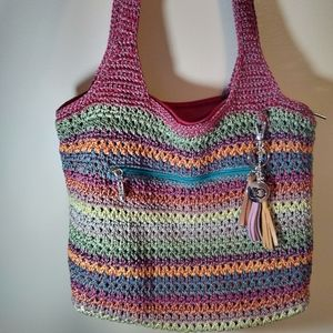 The Sak Casual Classics Large Tote Gypsy Stripe